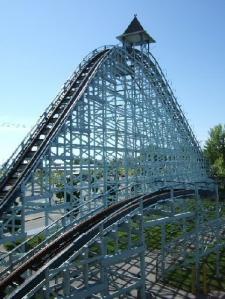 Cedar Point's Blue Streak