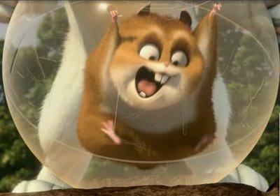 """""""I eat danger for breakfast!"""" -- Rhino, the hamster from Bolt"""