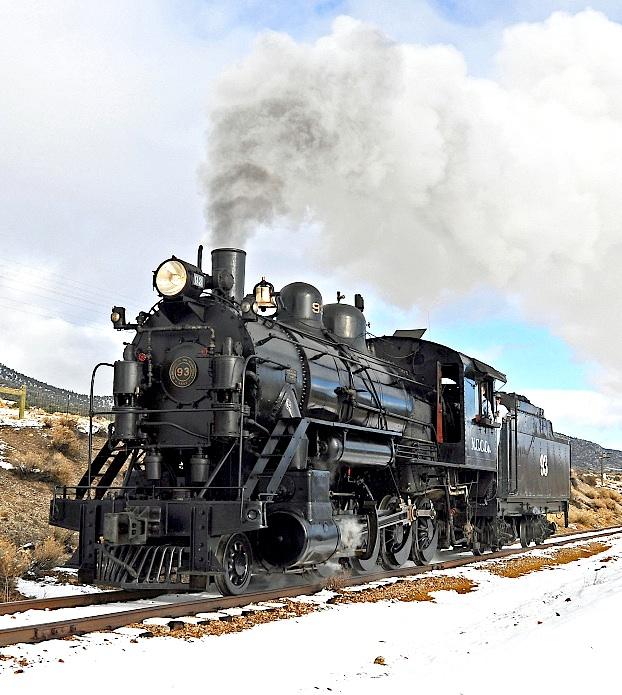N NV Steam Train