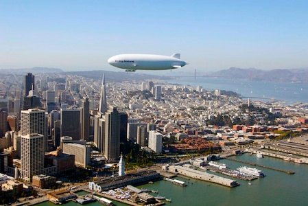 zeppelin flights san francisco